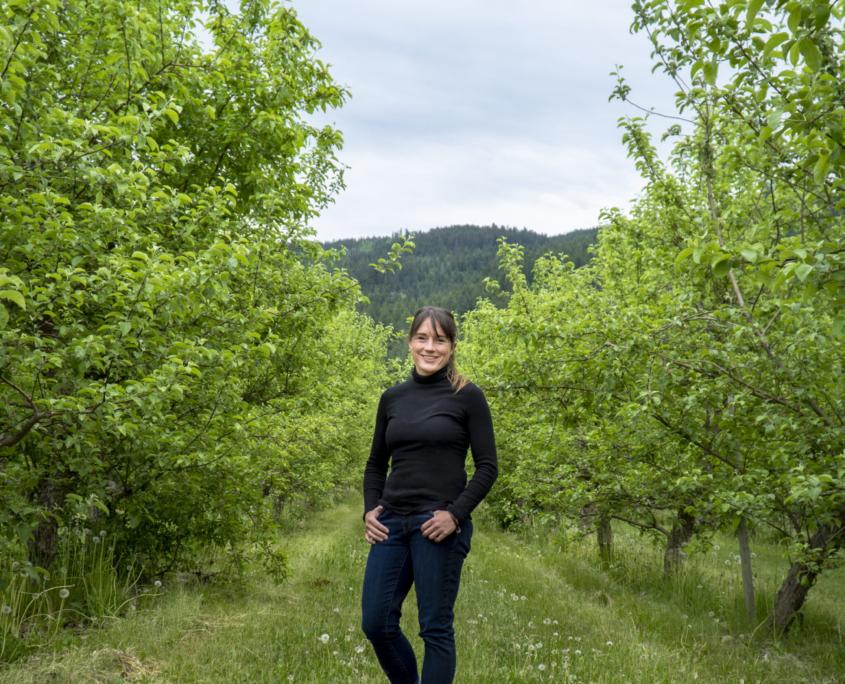 Missy Dobernigg is a member of Community Futures North Okanagan's business accelerator program, Momentum.